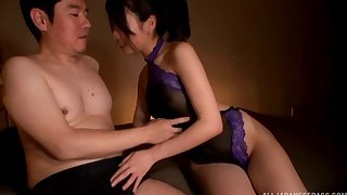 Amazing homemade sheet be fitting of overrefined Toda Emiri having precise sex