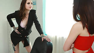 To-Tall Anal Domination