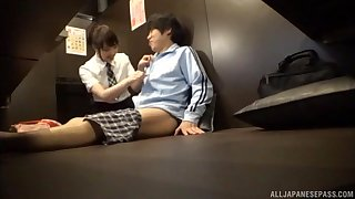 oral sexual congress is inconsequential in reference to that Hoshino Hibiki prefers with her horny friend