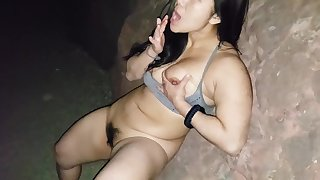 SONG LEE NAKED HIKING